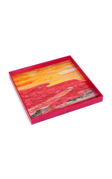 Watercolor Acrylic Tray