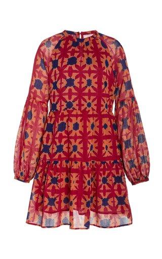 Lorene Tiered Cotton Dress