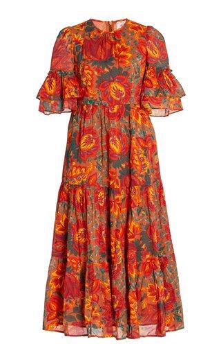 Mercy Printed Cotton Dress