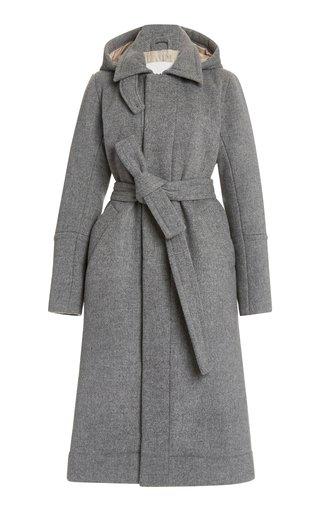 Wool-Blend Eco-Down Overcoat