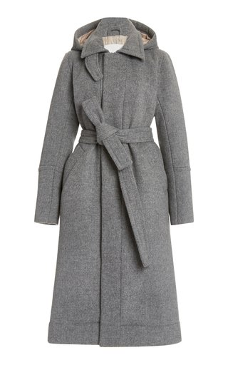 Wool-Blend Eco-Down Overcoat