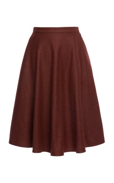 Kingsman A-Line Midi Skirt