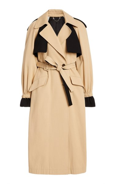 Paige Belted Cotton Trench Coat