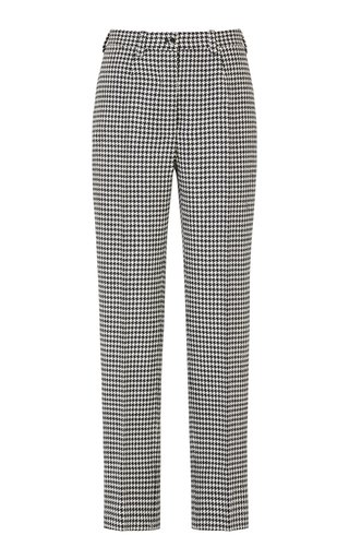 The Altea Houndstooth Wool Trousers