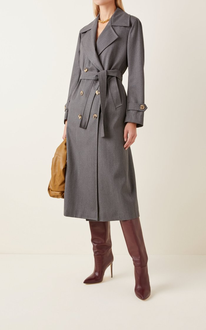 The Christie Wool Trench Coat