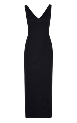 The Lucy Wool Midi Dress