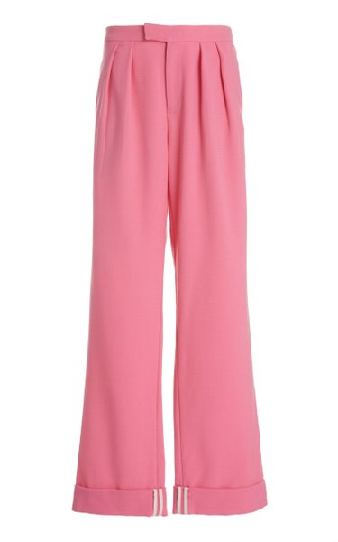 I'll Be There By Your Side Wool Wide-Leg Pants
