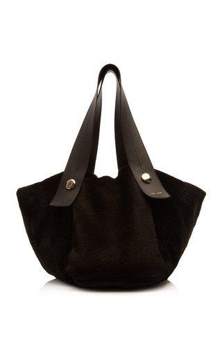 Tobo Oversized Pony Hair Tote Bag