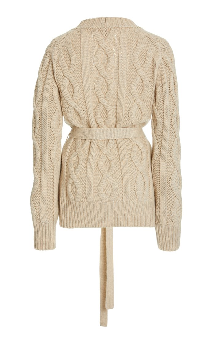 Replenish Belted Cashmere Cardigan