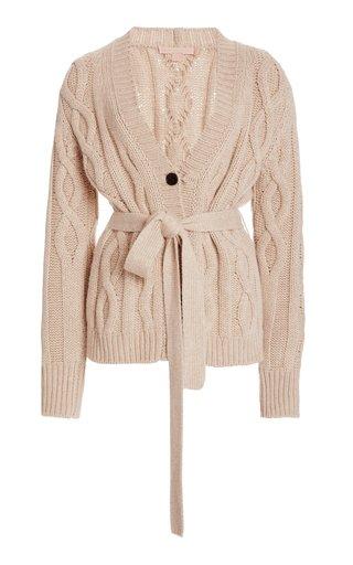 Replenish Belted Cashmere Cardigan