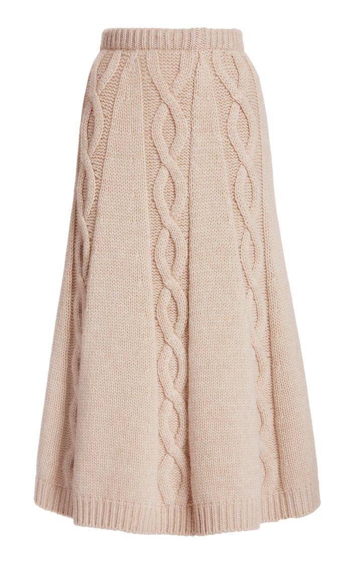Redden Cashmere Skirt