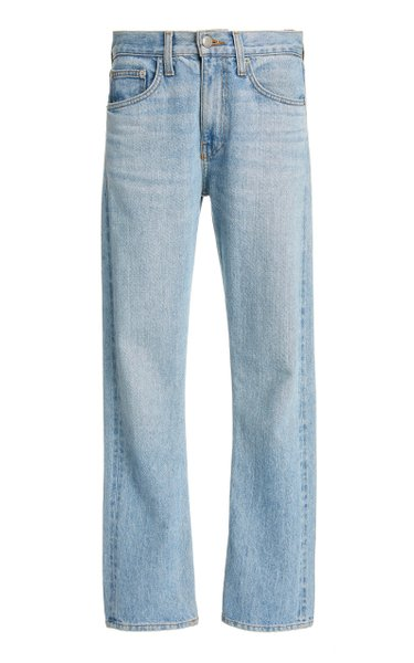 Wright Straight-Leg Ankle-Fit Jeans