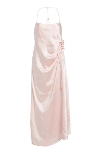 Aura Satin Slip Dress