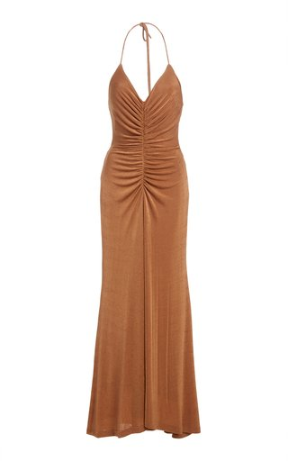 Giselle Ruched Jersey Dress