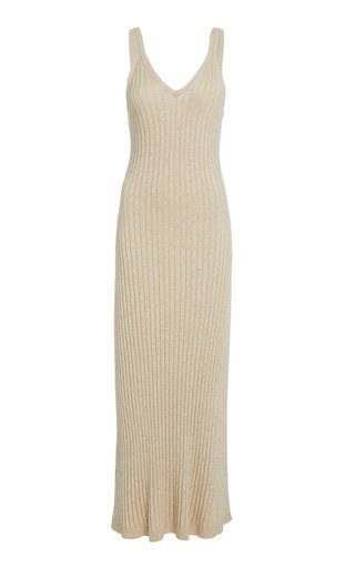 Goldie Ribbed Knit Midi Dress