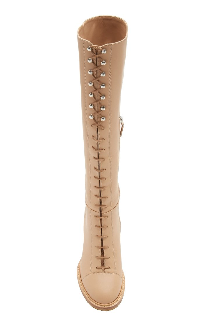 Pat Knee High Boots