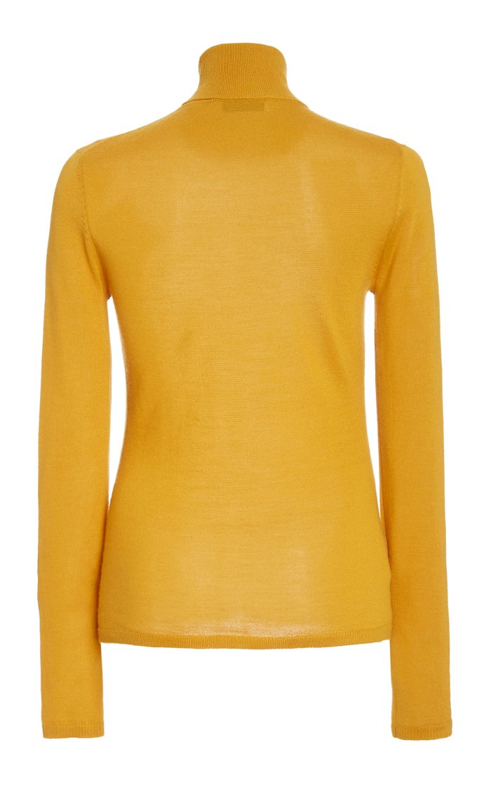 Costa Cashmere-Silk Turtleneck Sweater