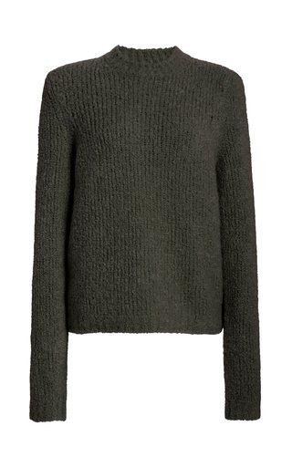 Philippe Cashmere-Silk Bouclé Sweater