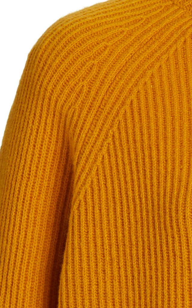 Wigman Ribbed-Knit Cashmere Turtleneck Sweater