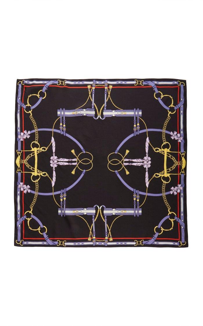 Antonio Printed Silk Scarf