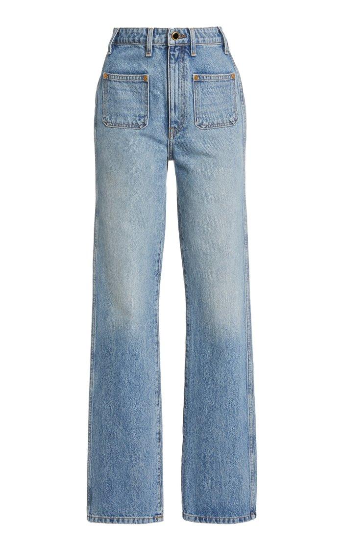Isabella Rigid High-Rise Skinny Jeans