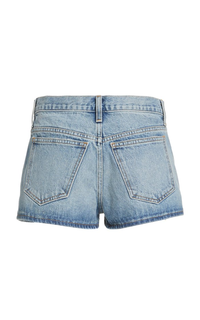Charlotte Denim Mini Shorts