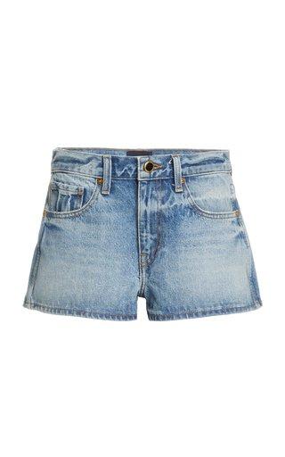 Charlotte Denim Mini Shorts