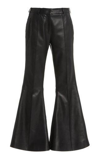 Charles High-Rise Leather Pants