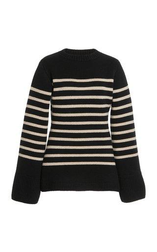Lou Striped Cashmere Sweater