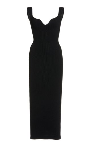 Nina Sleeveless Crepe Dress