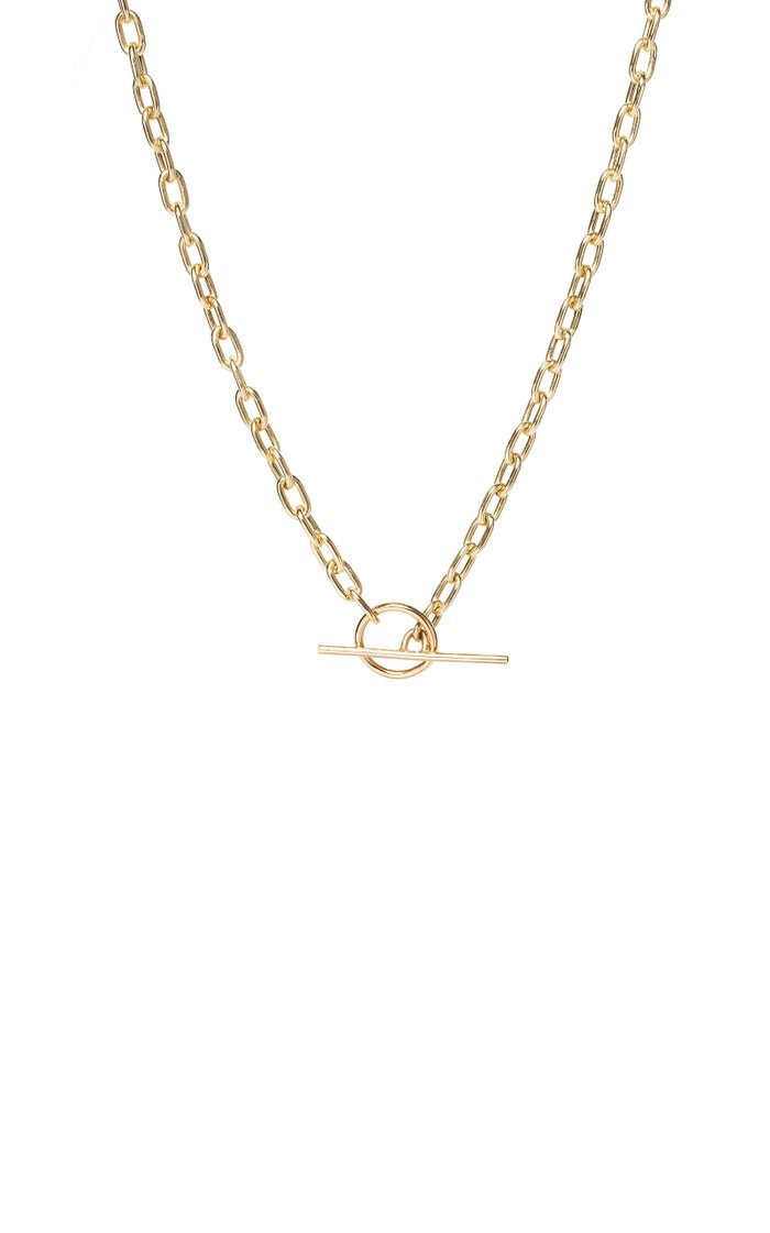 14K Yellow-Gold Toggle Necklace