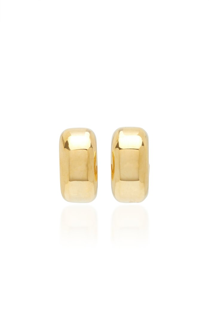 Tire Earrings Polished Vermeil
