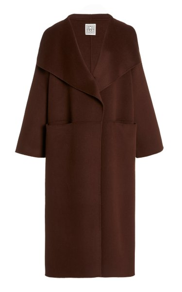 Annecy Oversized Wool and Cashmere Coat