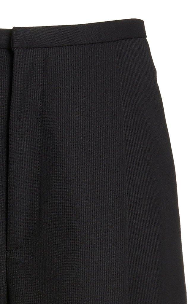Lumio Crepe Straight-Leg Trousers