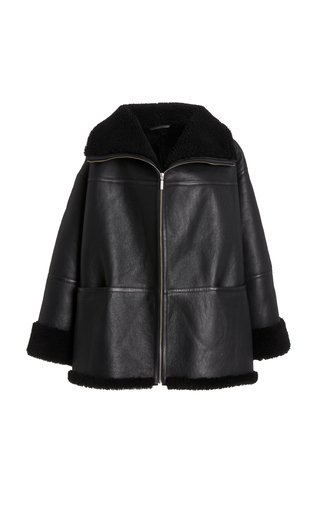 Menfi Shearling Coat