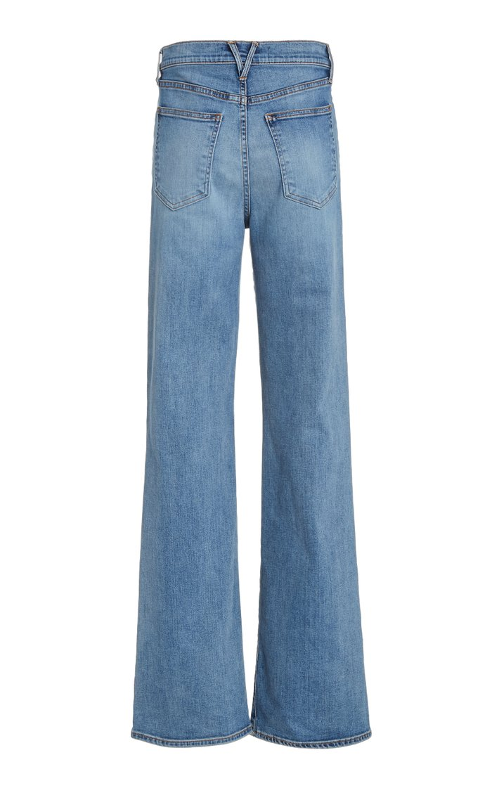 Crosbie High-Rise Flared-Leg Jeans