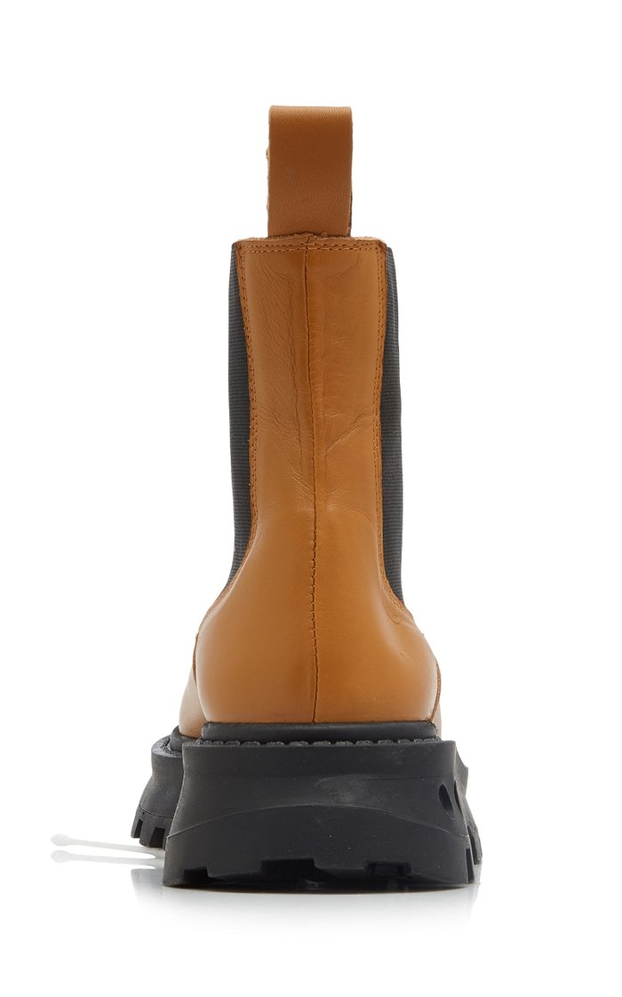 Scrambler Leather Ankle Boots