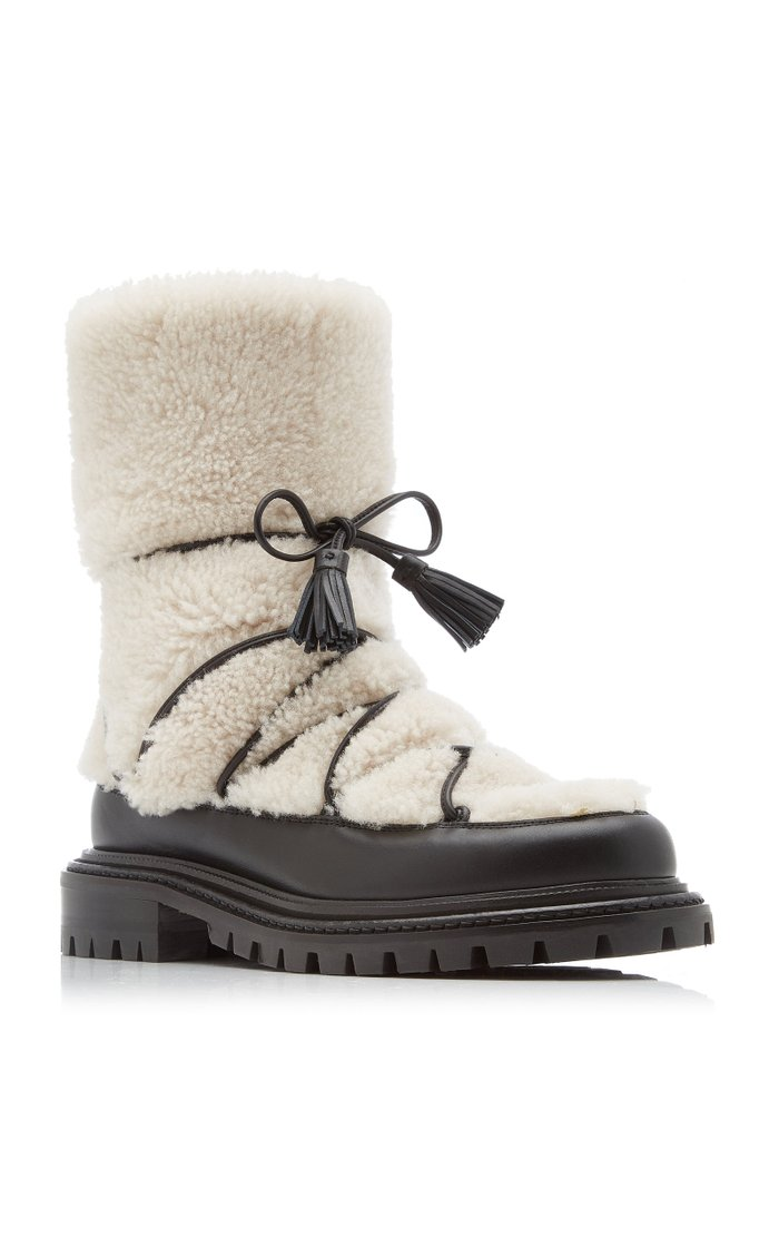 Very Aspen Shearling Ankle Boots