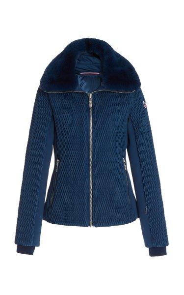 Montana IV Fur-Trimmed Shell Jacket