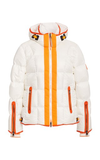 Gracia Hooded Down Puffer Jacket