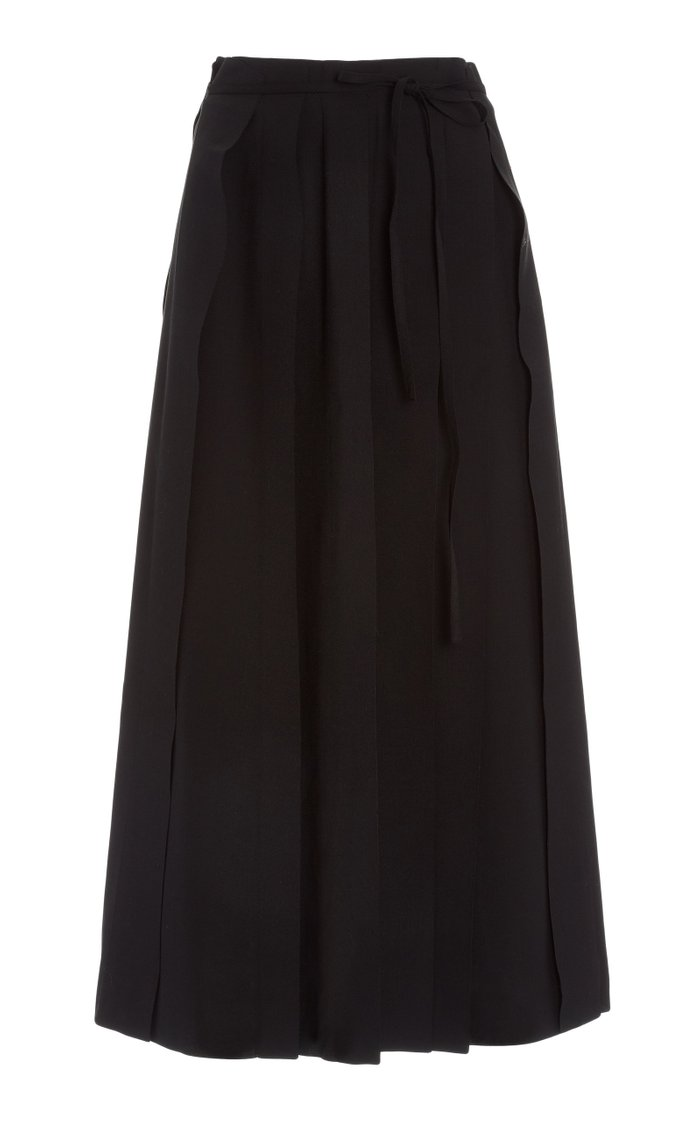 Layla Pleated Voile Skirt