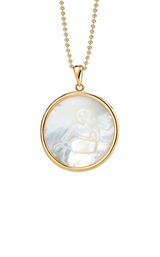 Aquarius 18K Gold Necklace