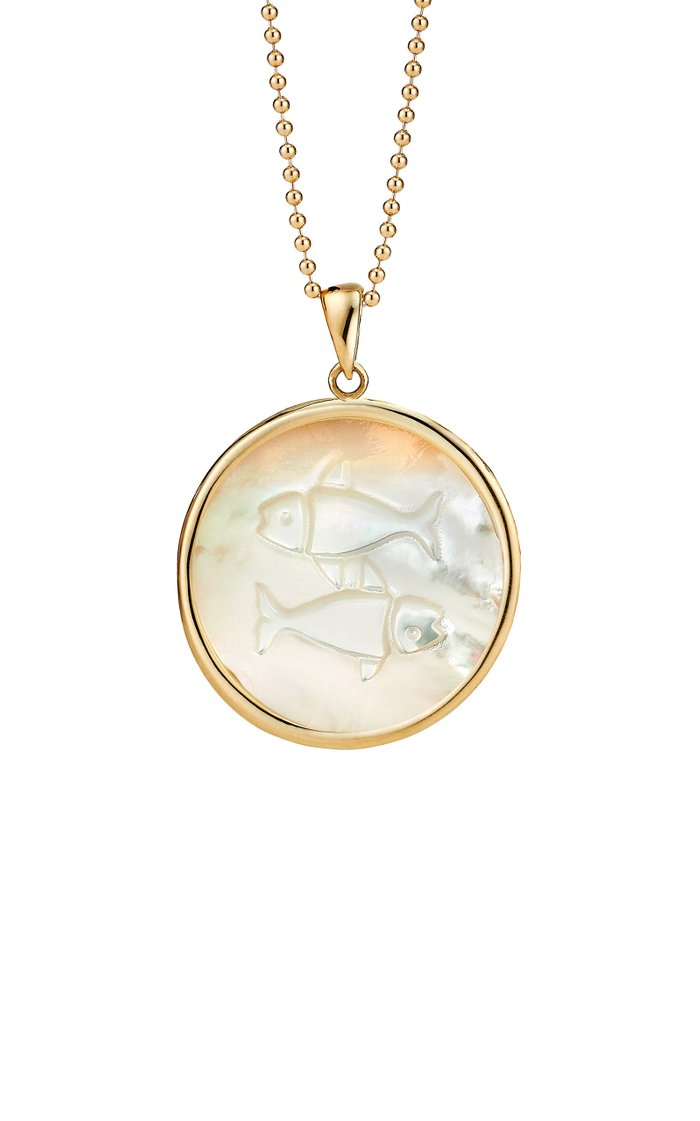 Pisces 18K Gold Necklace