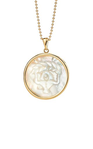 Virgo 18K Gold Pendant