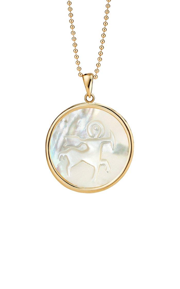 Sagittarius 18K Gold Pendant