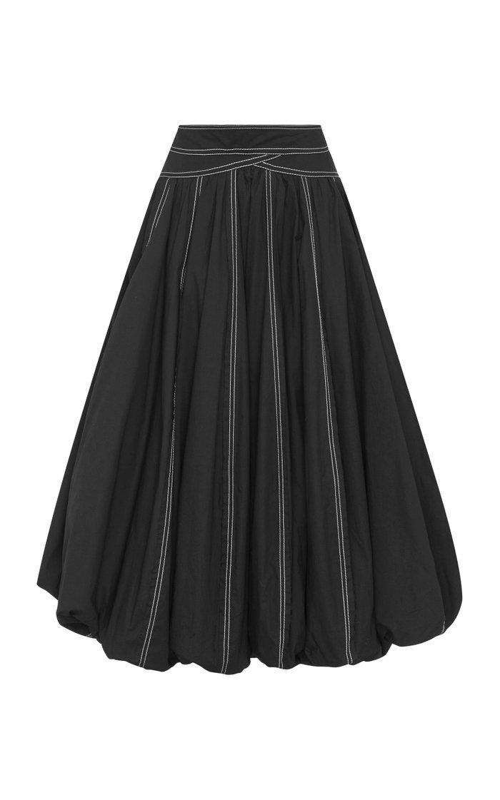 Quietude Cotton Bubble Skirt