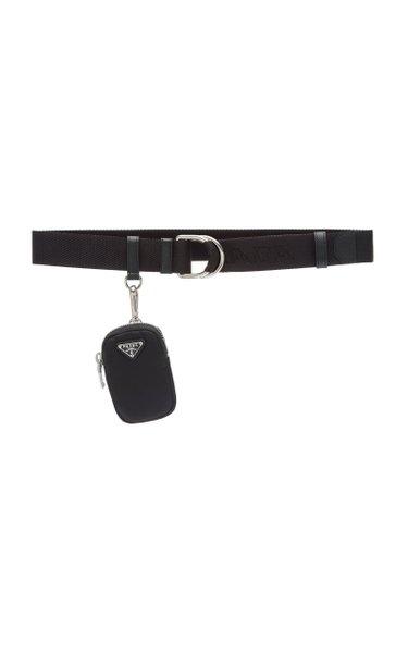 Nylon Pouch Webbed Belt