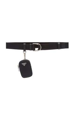 Nylon Pouch Webbed Belt