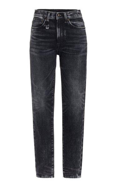 Stretch High-Rise Skinny Jeans