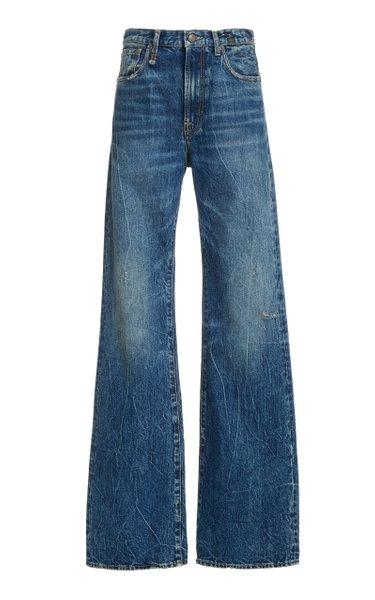 Jane Rigid High-Rise Wide-Leg Jeans